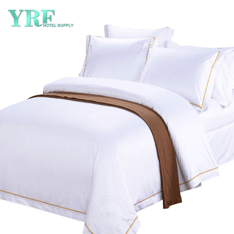 Embroidery Hotel Bedding Luxury Reserve Coverlet Sheets Supplier Queen