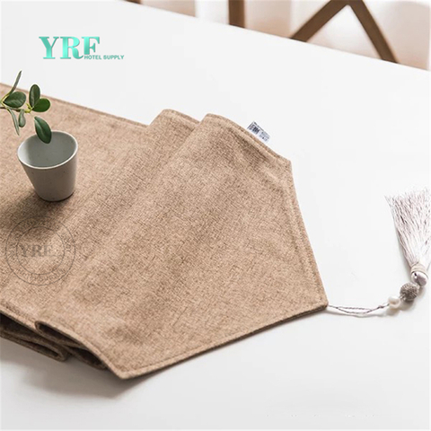 YRF High Quality European Style Pure Hotel Decorative Bed Runner