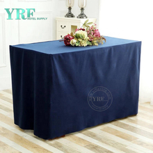 YRF Customized Banquet Rectangle Tulle Wedding Table Skirt