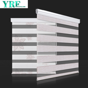 Components Zebra Curtains Window Blind Curtain Double Roller Blind