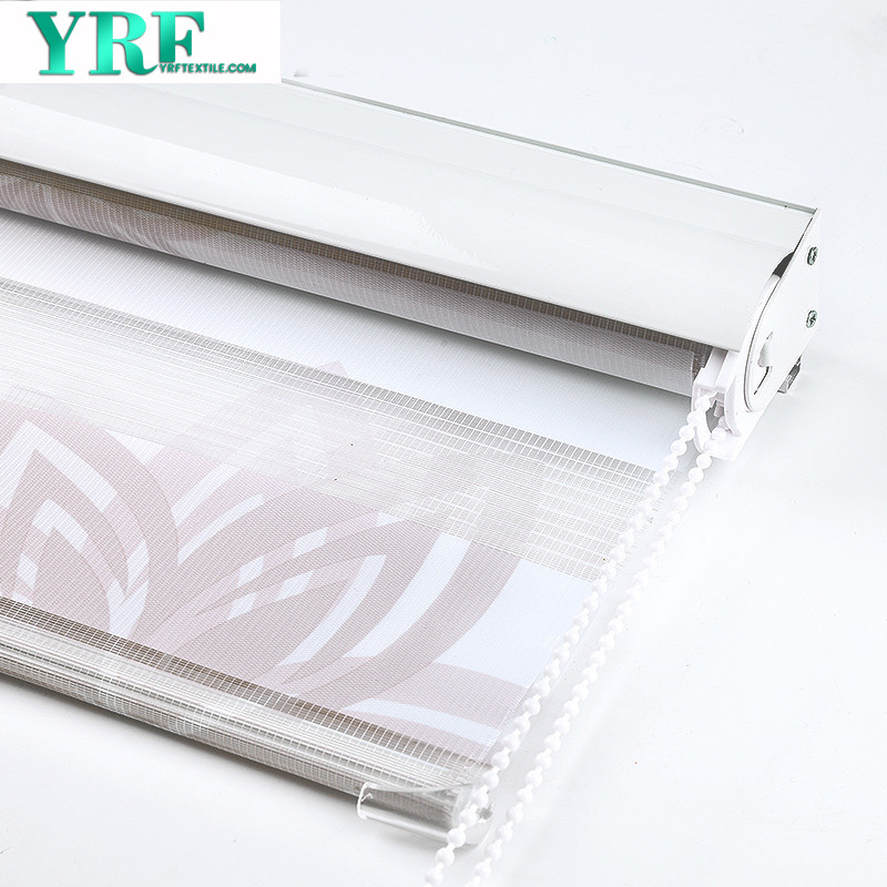 Chinese Customized Darkening Curtain Window Roller Thermal Insulated For Coffee Shop
