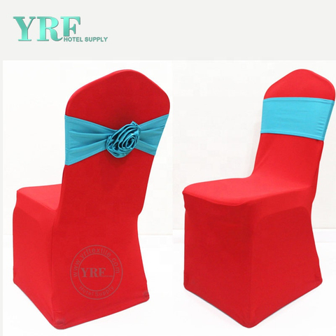 YRF Wholesale Spandex Red Stretch Wedding Chair Covers