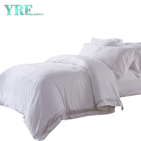 Hot Sale OEM Egyptian Cotton White Inn Hotel Collection Duvet Linen Sheets