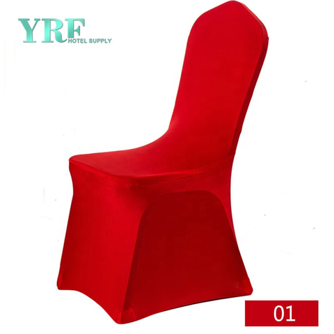 YRF New Style Hot Sale Fancy Red Wedding Banquet Chair Covers