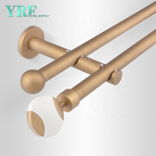 Guangzhou Foshan Factory Price Bendable Curtain Track System For YRF