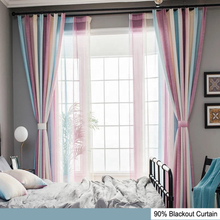 Dorm Room 63 inch ceiling mounted blackout curtains