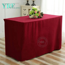YRF Hot Selling High Quality Wedding Table Skirt
