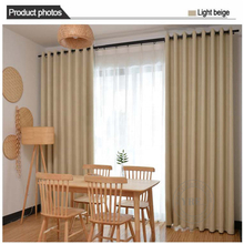 Cottage Plain Color Blackout Heavy Duty Insulated Bedroom Drapes