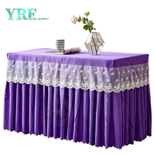 Table Skirt With Logo Tulle Table Skirt For Wedding