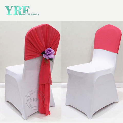 YRF White High Back Dining Room Chair Covers
