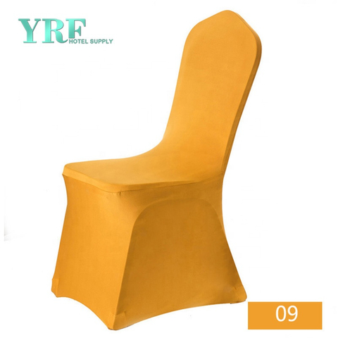 YRF Wholesale Hotel Supply Cheap Shiny Chair Covers