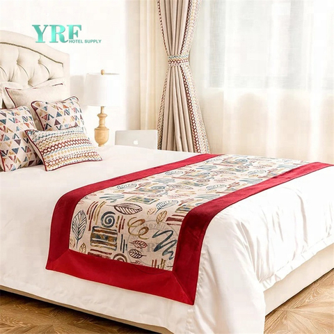 YRF Classical Designer Soft Size Of Queen Hotel King Size Bed Runner