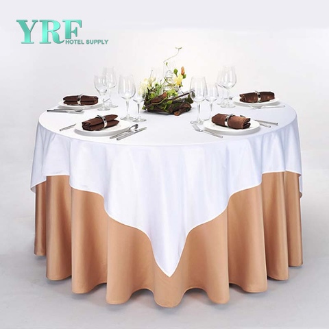 "YRF Hotel Supply Table Cover Round 90"" Chocolate Cheap"