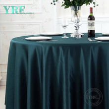 YRF Table Cloth Hotel Party 8ft plain 100% Polyester Round