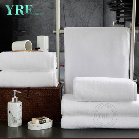 China Supplier Best Quality 5 Star Solid Color Custom Cotton Hotel Hand Towels