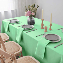 "Dinner Napkin Light Green 20x20"" Inch Pure Washable and Reusable for Parties"