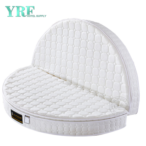 Luxury Inn Circle 2.2 M Mattress Smooth Velve Innerspring Foldable China Manufacturer Custom