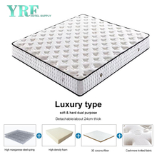 Motel 1.2*2.0m Mattress Premium Steel Coils Firm