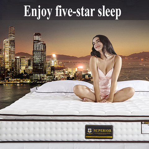 Hotel Good Quality Mattress Spring Memory Foam For Double Bed