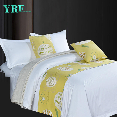 Hotel Apartment Fashionable Printing Pattern Queen Bed Decorative Bed Flags