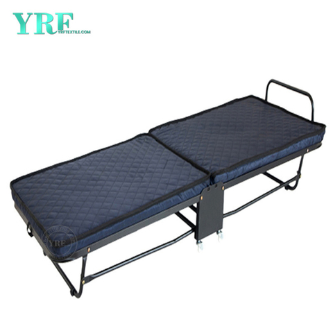 Motel Folding Bed Extra Portable Foam Mattress on Wheels Twin Size Beds