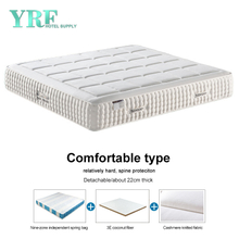 Luxury 5 Star Hotel 11 Inch Mattress Coconut Fiber 1.2*2.0m Relatively Hard