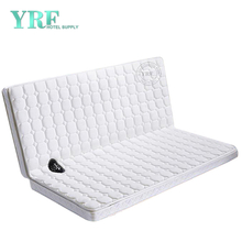 Apartment Bed Latex Mattress Folding Waterproof Fabric 12CM Double bed