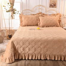 New Product Bedspread Lightweight Twin XL Bed Cover Blanket Sandy Brown for All Season