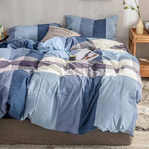 Cheap Price Luxury Multicolor Gingham New Product Cotton Bed Sheets